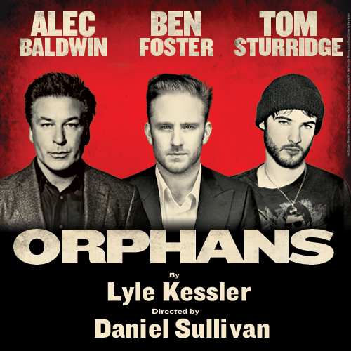 Win two tickets to see Orphans, starring Alec Baldwin, Ben Foster and Ben Sturridge