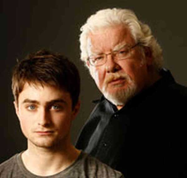 """Daniel Radcliffe and Richard Griffiths in """"Equus"""" on Broadway"""