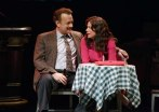 Tom Hanks and Maura Tierney as Mike and Alice McAlary in Lucky Guy on Broadway