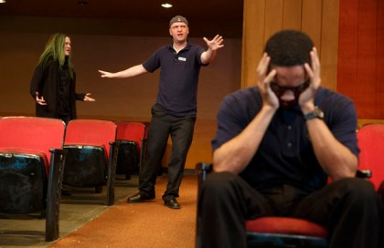 """Complains about """"The Flick"""" have led Playwrights Horizons artistic director Tim Sanford to send an e-mail to the theater's subscribers."""