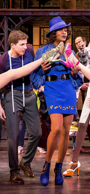 """Stark Sands and Billy Porter star in """"Kinky Boots"""" on Broadway, by Harvey Fierstein and Cyndi Lauper"""
