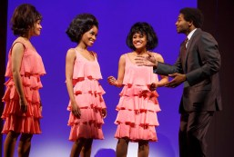 The Supremes with Berry Gordy Jr. (Brandon Victor Dixon)