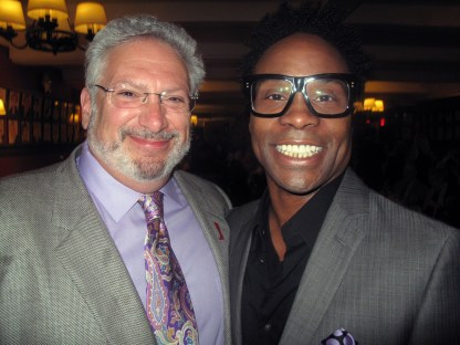 Kinky Boots book writer Harvey Fierstein and leading actor Billy Porter