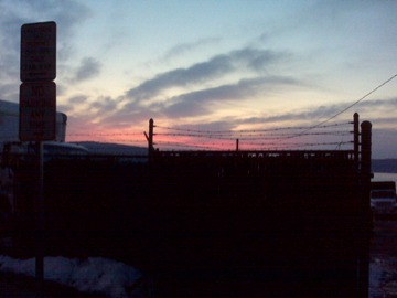 Sunset-just-outside-the-prison-walls