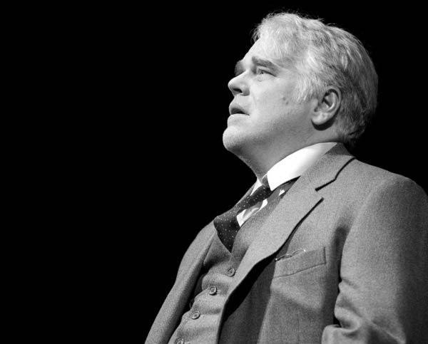 Philip Seymour Hoffman in Death of a Salesman, 2013