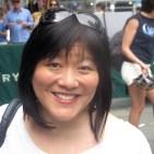Ann Harada in Bryant Park