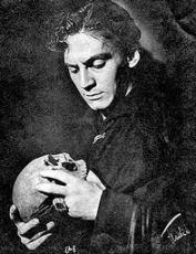 Edwin Booth as Hamlet