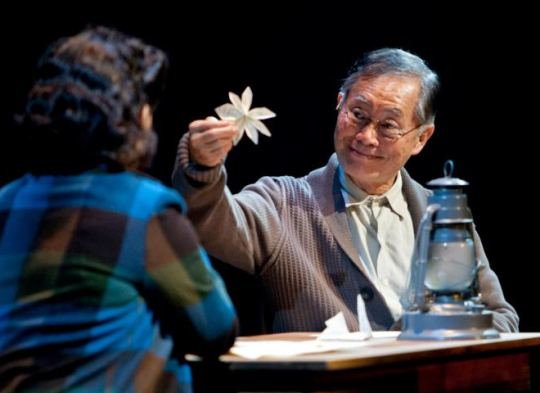 George Takei in Allegiance, aiming for Broadway