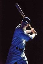 Lou Gehrig, played by John Wernke, in Bronx Bombers, a play about the Yankees