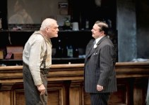 Brian Dennehy with Nathan Lane in The Iceman Cometh directed by Robert Falls at Chicago's Goodman Theatre, which transferred to the Brooklyn Academy of Music in 2015