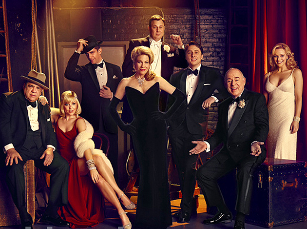 Bullets Over Broadway: First Look at Zach Braff, Marin Mazzie in Woody Allen musical