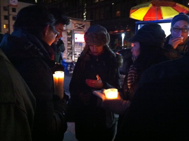 candlelightvigilforRandyGener