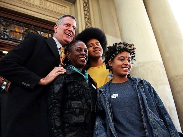 de Blasio family First Family of NYC