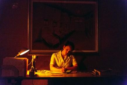 Jessica Afton as the nurse