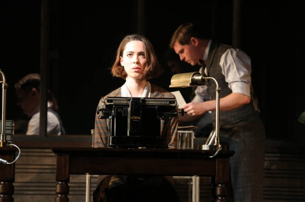 Rebecca Hall in Machinal with Jason Loughlin and Ryan Dinning