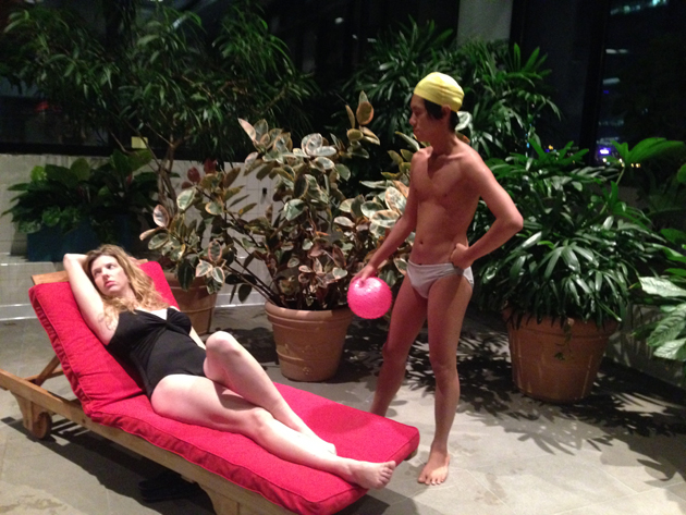A scene from Pool Play