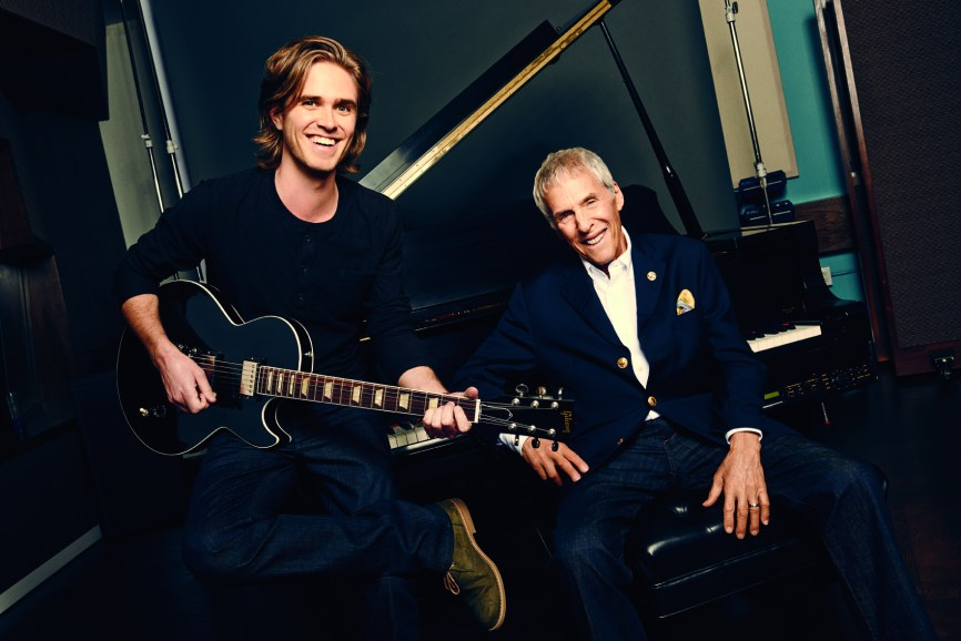 Kyle Riabko and Burt Bacharach