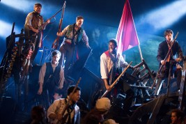 A scene from LES MISERABLES. Photo by Matthew Murphy