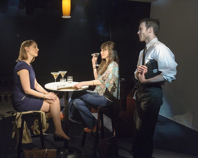Molly Thomas, Shannon Marie Sullivan and John Racioppo in Beau Willimon's Breathing Time