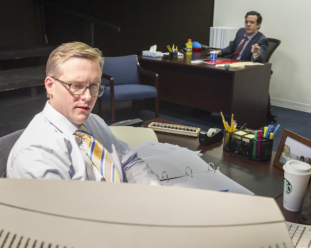 Lee Dolson and Craig Wesley Divino in Beau Willimon's Breathing Time