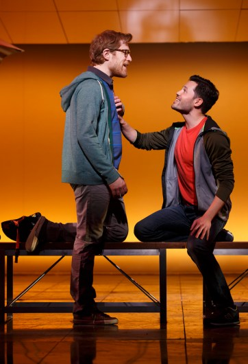 Anthony Rapp and Jason Tam