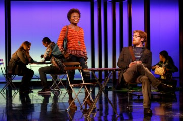 La Chanze and Anthony Rapp in If/Then