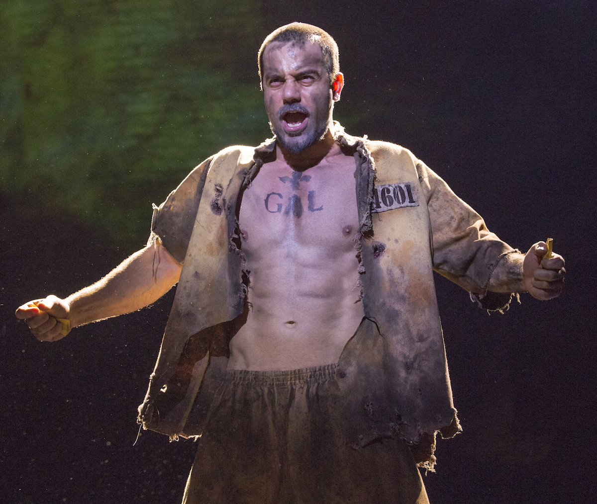 Ramin Karimloo in Les Miserables, 2014