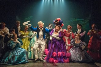 Cliff Saunders and Keala Settle the Thenardiers