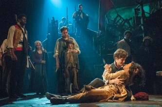 Les Miz: Andy Mientas as Marius and Nikki M James as Eponine