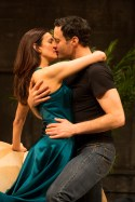 Jessica Hecht and Dominic Fumusa in Stage Kiss, 2014