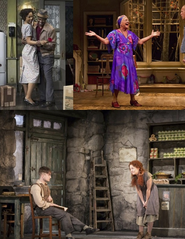 A Raisin in the Sun with Denzel Washington, Velocity of Autumn with Estelle Parsons, The Cripple of Inishmaan with Daniel Radcliffe, all opening in April.