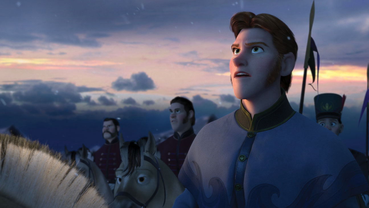 Santino Fontana voice the character of Hans in Frozen