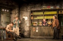 Daniel Radcliffe, Ingrid Craigie as his Aunty Kate, Gillian Hanna as his Aunty Eileen and Pat Shortt as JohnnyPateenmike, the town gossip