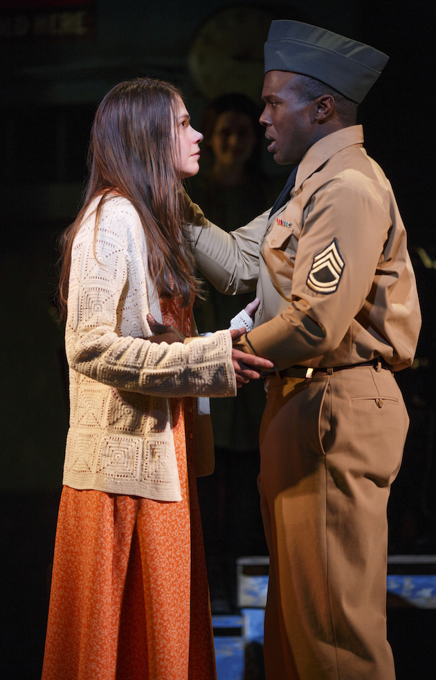 """Sutton Foster and Joshua Henry in """"Violet"""""""