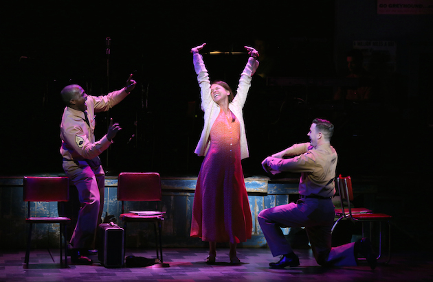 Joshua Henry, Sutton Foster and Colin Donnell