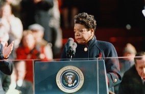 Maya Angelou Reading at President Clinton's Inauguration