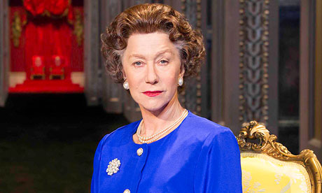 Helen Mirren as Queen Elizabeth in The Audience