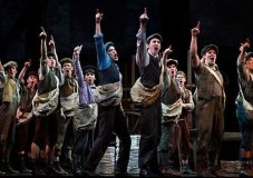 Newsies, a musical inspired by the true story of a 1899 labor strike by Newsboys
