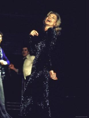 LaurenBacall on stage