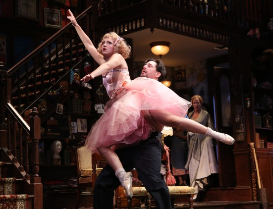 """By doing nothing more than doing fake ballet moves, Annaleigh Ashford, turns her lines into memorable hilarity in """"You Can't Take It With You."""""""