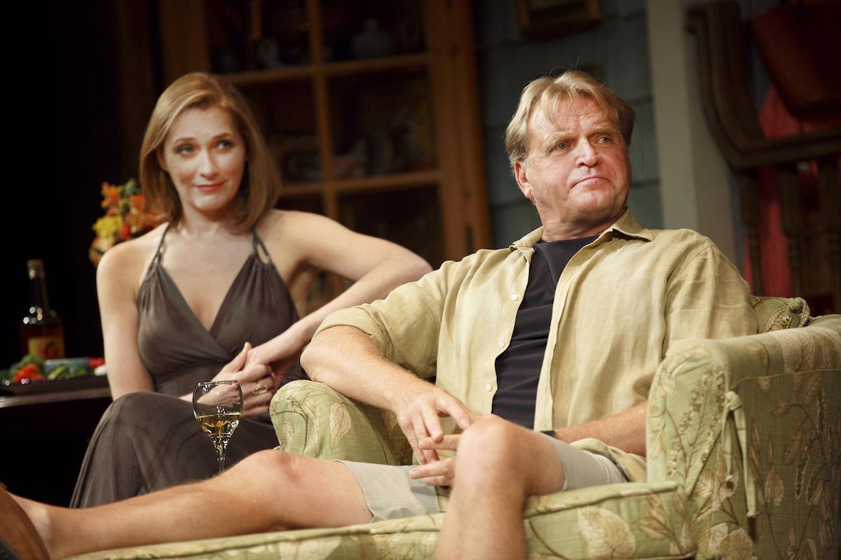 Kate Jennings Grant as new girlfriend of widower Walter, played by David Rasche
