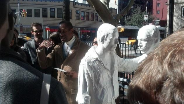 Gay Liberation sculpture