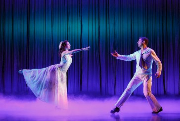 """Megan Fairchild and Tony Yazbeck dance to Joshua Bergasse's choreography in """"On The Town"""""""