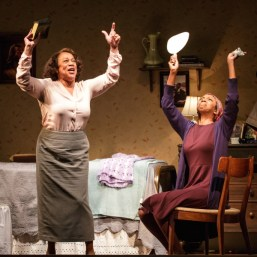 While I Yet Live (Primary Stages) S. Epatha Merkerson and Sharon Washington