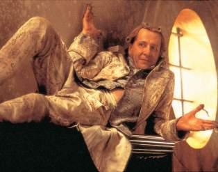 "Geoffrey Rush as the Marquis de Sade in ""Quills"""