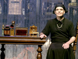 """Jefferson Mays as Charlotte von Mahlsdorf in """"I Am My Own Wife"""""""
