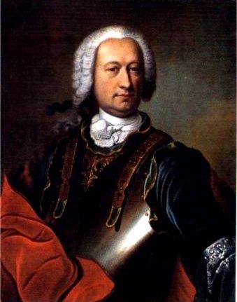 Portrait of the real Marquis de Sade