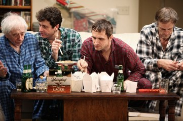 """""""Straight White Men"""" Written and Directed by Young Jean Lee Public Theater New York, N.Y. November 6, 2014"""