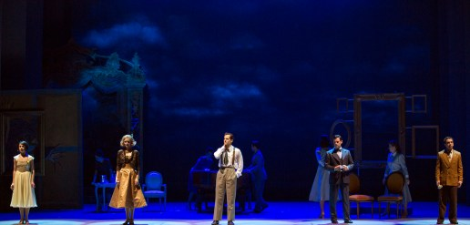Leanne Cope, Jill Paice, Robert Fairchild, Max von Essen, Brandon Uranowitz in American in Paris..in Paris