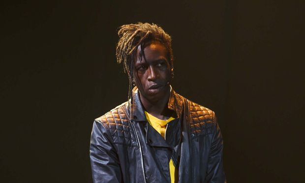 Saul Williams in Holler If Ya Hear Me